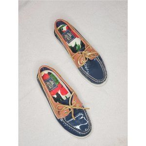 Milly for Sperry Top-Sider Patent Boat Shoe